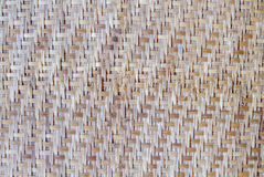 Weave de bambu Imagem de Stock