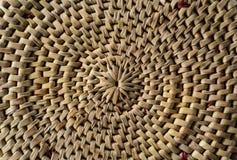 Weave de bambu Imagens de Stock Royalty Free