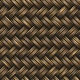 Weave de cesta Imagem de Stock