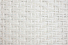 Weave de cesta branco Foto de Stock Royalty Free