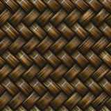 Weave de cesta do Twill Foto de Stock