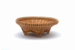 Weave de cesta isolado foto de stock royalty free