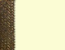 Weave de madeira Fotografia de Stock