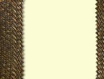 Weave de madeira Foto de Stock