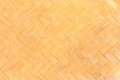Weave de madeira amarelo dourado Foto de Stock
