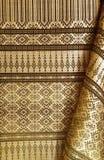 Weave de seda tailandês por 1 handmade Foto de Stock