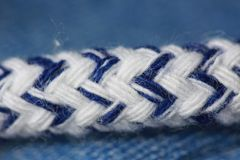 Weave detailed image of crossed stitches. stock images