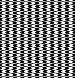 Weave do teste padrão da geometria do sumário do moderno do vetor, fundo sem emenda preto e branco da geometria Fotografia de Stock Royalty Free