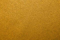 Weave dourado da tela Imagem de Stock Royalty Free