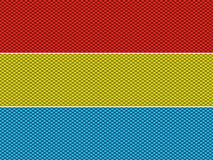 Weave Fabric Ribbon Pattern. Imitation editable scalable colorful royalty free illustration