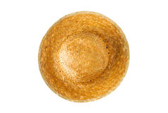 Weave in hat. Isolated from top view Stock Image