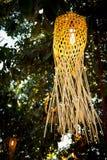 Weave lamp Stock Photo