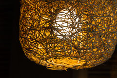 Weave lamp Royalty Free Stock Photography