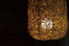 Weave lamp Royalty Free Stock Images