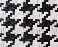 Weave leather, fragment Stock Photos