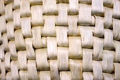 weave- lotus dried straw  pattern Royalty Free Stock Image