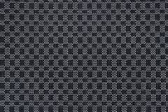 Weave mat pattern ,black and white plastic texture Royalty Free Stock Photos