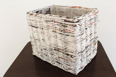 Weave in newspapers Stock Photography