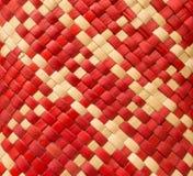 Weave. Pandanus alternating colors Scottish motifs Stock Photo