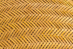 Weave pattern of bamboo background Stock Images