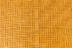 Weave pattern of bamboo background Stock Photo