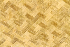 Weave pattern of bamboo background processed in vintage style Royalty Free Stock Photography