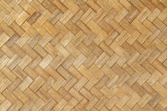 Weave pattern of bamboo  in orange tone Stock Image