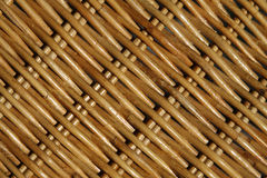 Weave pattern of a basket Royalty Free Stock Images