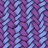 Weave pattern design Stock Images