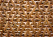 Weave pattern rattan Royalty Free Stock Image