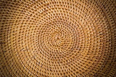 Weave pattern  rattan background Stock Images