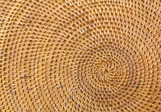 Weave pattern  rattan background Royalty Free Stock Images