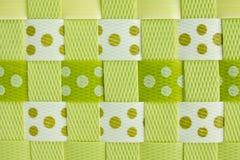 Weave plástico Imagens de Stock Royalty Free