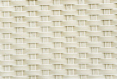 Weave plastic wicker pattern. Stock Photography