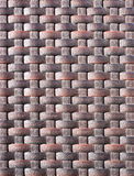 Weave plastic wicker pattern. Royalty Free Stock Image