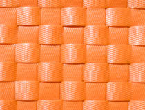 Weave plastic wicker pattern. Stock Photo