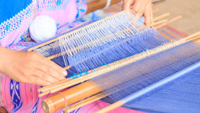 Weave of poeple thailand Royalty Free Stock Photography