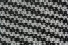 Weave preto da tela Fotografia de Stock