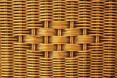 Weave rattan texture Royalty Free Stock Photography