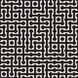 Weave Seamless Pattern. Braiding Background of Intersecting Stripes Lattice. Geometric Vector Stock Photos