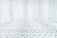 Weave seamless texture Perspective. Stock Photos