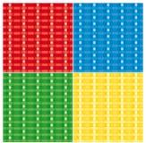 Weave seamless vector texture background Stock Photos