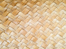 Weave sedge mat background Royalty Free Stock Images