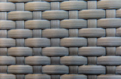 Weave. Striped bed beside the swimming pool Royalty Free Stock Image