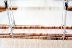Weave textiles. By Thai local wisdom Royalty Free Stock Photos