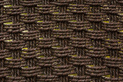 Weave. Thick rope weave with three by three pattern Stock Photography