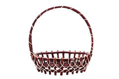 Weave wicker basket Stock Photo