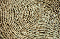Weave wicker spiral Stock Images