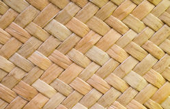 Weave wood Stock Image