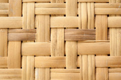 Weave wood pattern for background Stock Image